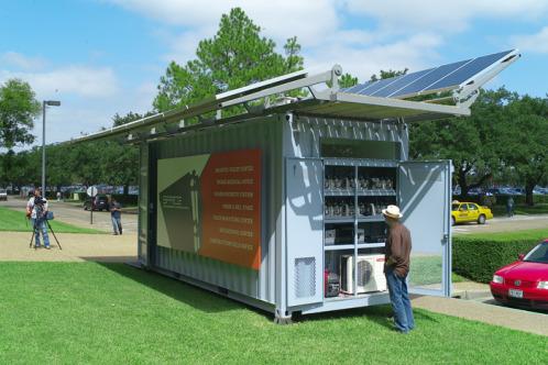 Space Solar Powered Adaptive Container Solar Magazine Com